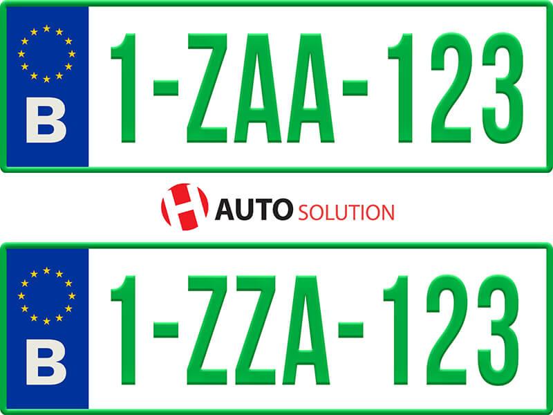 Exemple de deux plaque Z et plaque ZZ